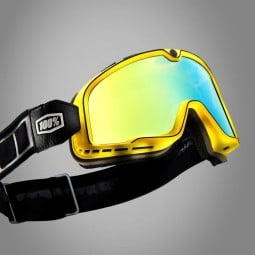 Motorcycle Goggles 100% Barstow BURNWORTH ,Motorcycle Goggles / Masks