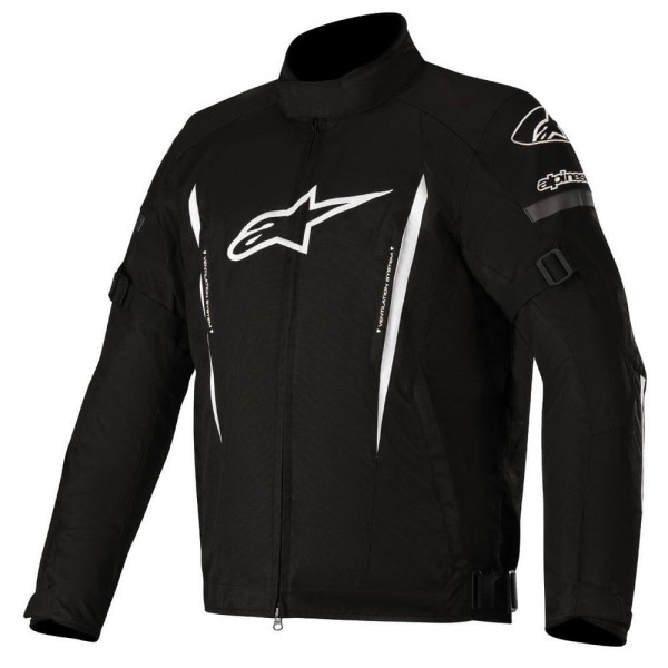 Motorcycle Jacket Alpinestars GUNNER V2 Waterproof Black