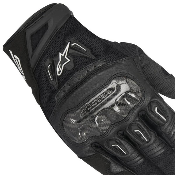 Motorcycle Gloves Alpinestars SMX-2 Air Carbon V2 Black