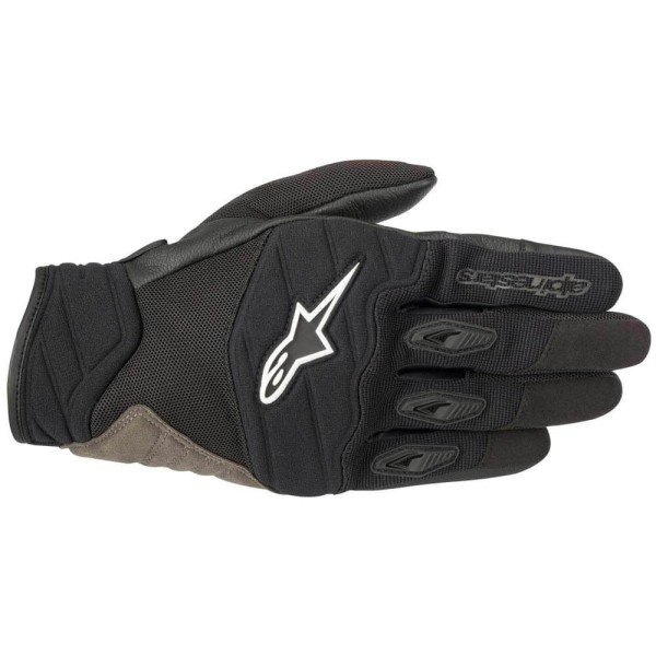 Motorcycle Gloves Alpinestars Shore Black