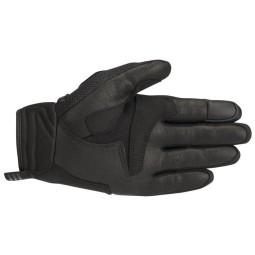 Motorrad-Handschuhe Alpinestars Atom Schwarz Weiß