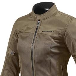 Motorrad-Stoffjacke REVIT Eclipse Frau Braun ,Motorrad Textiljacken