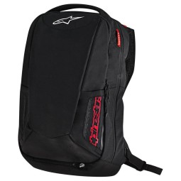Motorcycle Backpack Alpinestars CITY HUNTER Black Red ,Motorcycle Bags / Backpacks