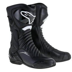 Motorcycle Boot Alpinestars SMX-6 V2 Black White