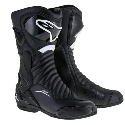 Motorradstiefel Alpinestars SMX-6 V2 Black White, Motorrad Racing Stiefel