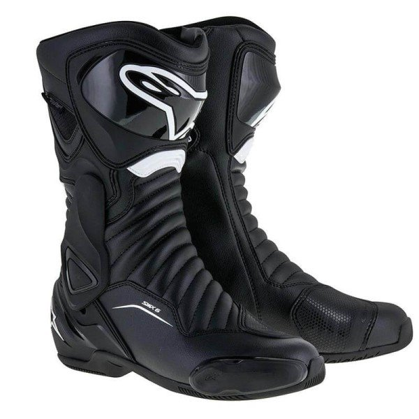 Botte Moto Alpinestars SMX-6 V2 Black White