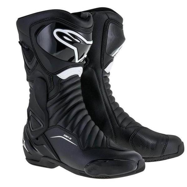 Motorcycle Boot Alpinestars SMX-6 V2 Black White