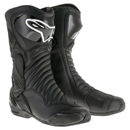 Motorcycle Boot Alpinestars SMX-6 V2 Black ,Motorcycle Racing Boots