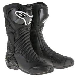 Motorradstiefel Alpinestars SMX-6 V2 Black, Motorrad Racing Stiefel
