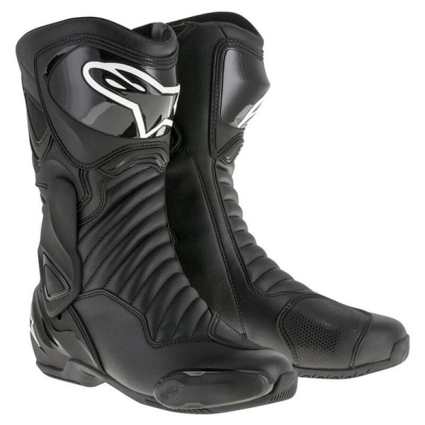 Motorcycle Boot Alpinestars SMX-6 V2 Black
