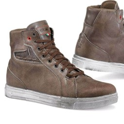 Zapatos de Moto TCX Street Ace Waterproof Coffee