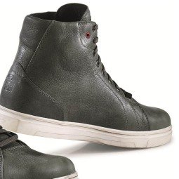 Zapatos de Moto TCX Street Ace Waterproof Grey