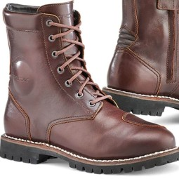 Motorcycle Boot TCX Hero Waterproof Brown ,Motorcycle Shoes Urban