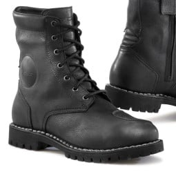 Motorcycle Boot TCX Hero Waterproof Black, Motorcycle Shoes Urban