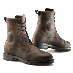 Motorcycle Boot TCX X-Blend Waterproof Brown ,Motorcycle Urban Shoes