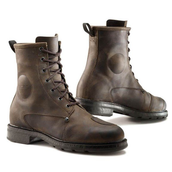 Bottes Moto TCX X-Blend Waterproof Marron