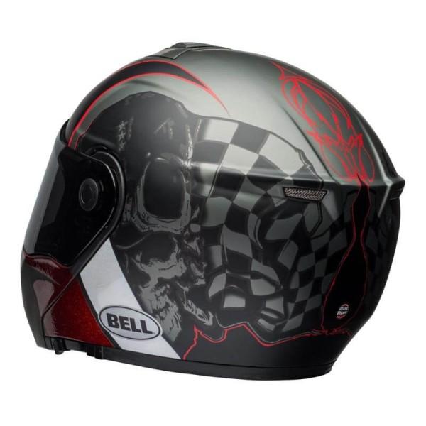 Motorcycle Helmet Modular BELL HELMETS SRT Hart Luck
