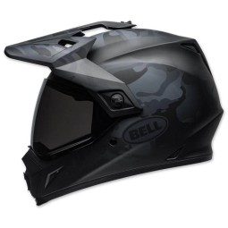 Casco Moto Enduro BELL MX-9 Adventure Mips Stealth, Caschi Motocross / Adventure