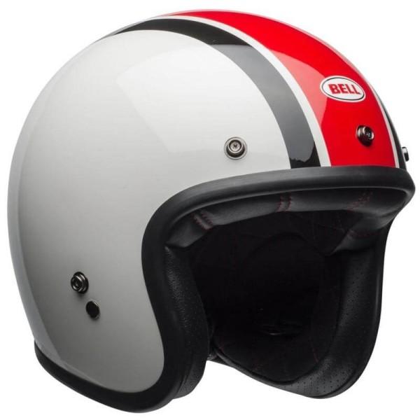 Motorcycle Helmet Vintage Bell Custom 500 Ace Cafe Stadium