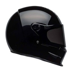 Motorcycle Helmet BELL HELMETS Eliminator Gloss Black ,Helmets Full Face