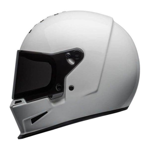 Motorrad Helm BELL HELMETS Eliminator White