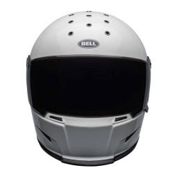 Motorrad Helm BELL HELMETS Eliminator White ,Integral Helme