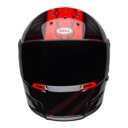 Casco Moto BELL HELMETS Eliminator Outlaw Red, Caschi Integrali