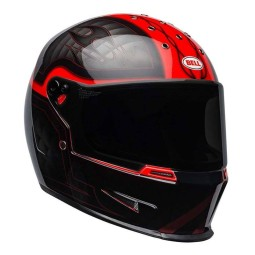 Motorrad Helm BELL HELMETS Eliminator Outlaw Red