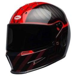 Casque Moto BELL HELMETS Eliminator Outlaw Red
