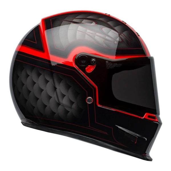 Motorcycle Helmet BELL HELMETS Eliminator Outlaw Red