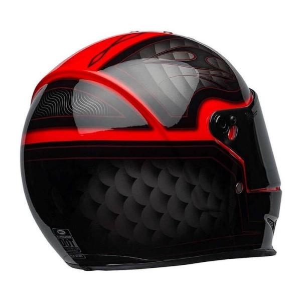 Casco Moto BELL HELMETS Eliminator Outlaw Red