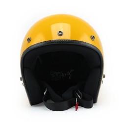 Casque Moto Vintage ROEG Moto Co JETT Gloss Yellow