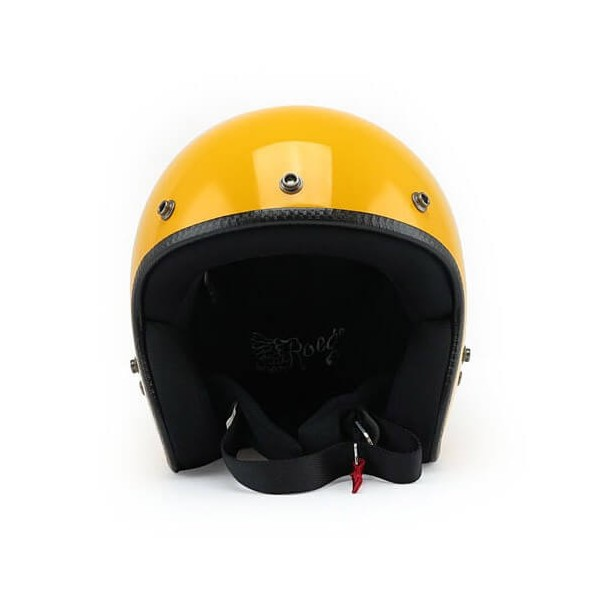 Casque Moto Vintage ROEG Moto Co JETT Gloss Yellow