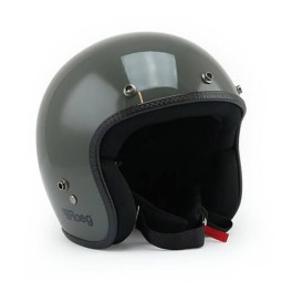 Motorrad Helm Vintage ROEG Moto Co JETT Slate Grey Gloss