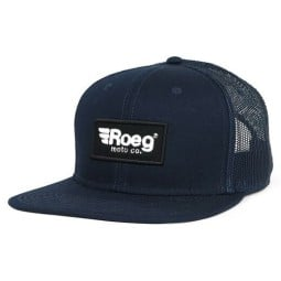 Motorcycle Cap ROEG Moto Co Blake Flat Navy, Beanies and Hats