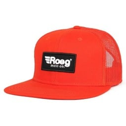 Cappellino Moto ROEG Moto Co Blake Flat Orange, Cuffie / Cappelli