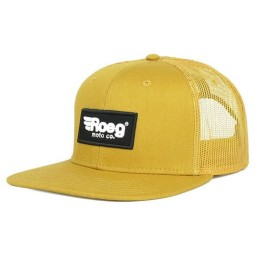 Motorcycle Cap ROEG Moto Co Blake Flat Yellow ,Beanies / Hats
