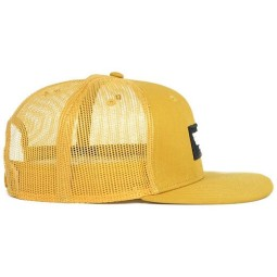 Cappellino Moto ROEG Moto Co Blake Flat Yellow, Cuffie / Cappelli