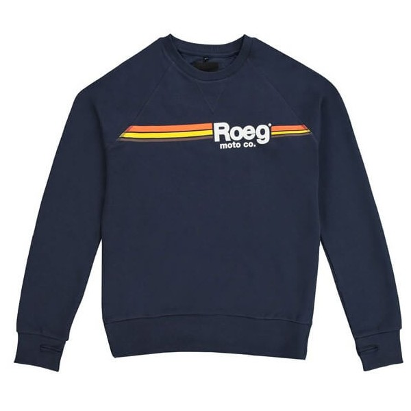 Sweat-shirt Moto ROEG Moto Co TON Navy