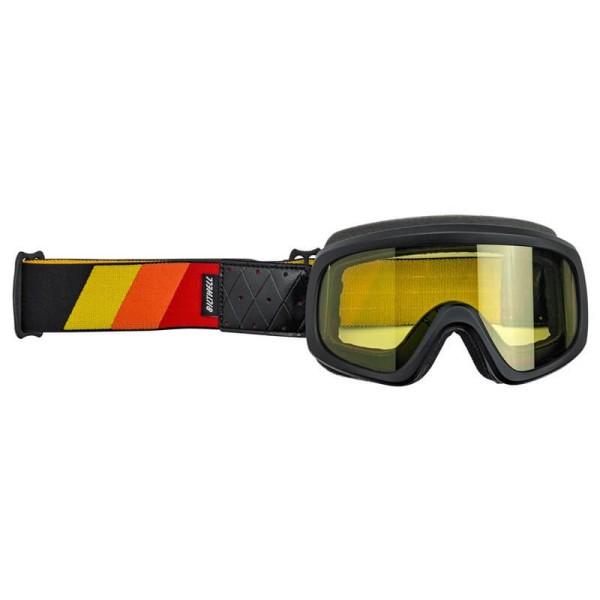 Motorradbrille BILTWELL Inc Overland 2.0 Tri-Stripe