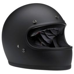 Motorcycle Helmet Vintage BILTWELL Gringo Flat Black ,Vintage Helmets