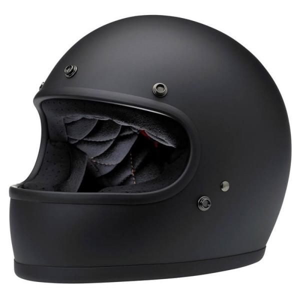 Motorcycle Helmet Vintage BILTWELL Gringo Flat Black