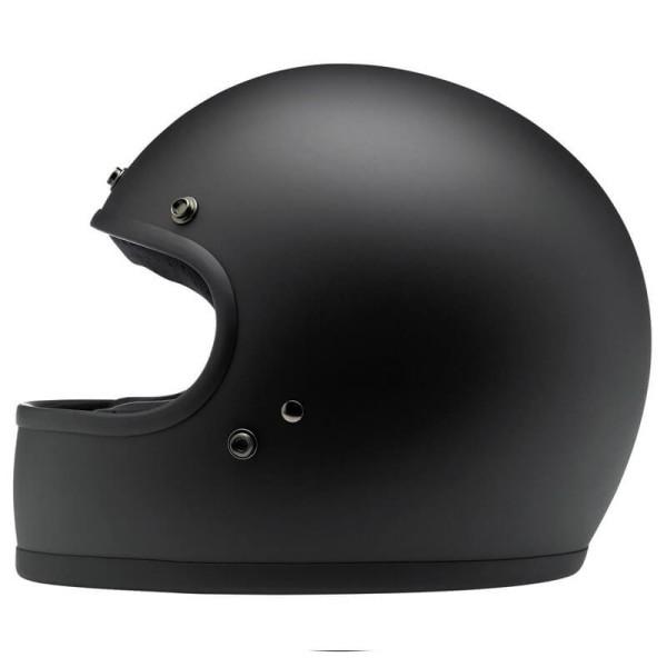 Motorrad Helm Vintage BILTWELL Gringo Flat Black