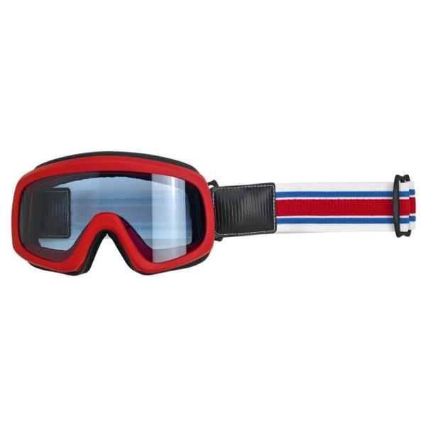 Motorradbrille BILTWELL Inc Overland 2.0 Racer Red Blue