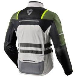 Blouson Moto REVIT Offtrack Argent Vert ,Blousons et Vestes Moto Tissu