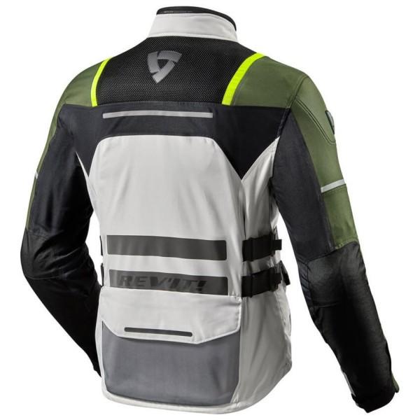 Blouson Moto REV'IT Offtrack Argent Vert