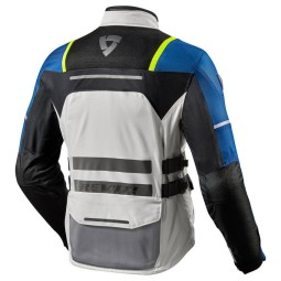 Motorrad Jacke REVIT Offtrack Silber Blau ,Motorrad Textiljacken