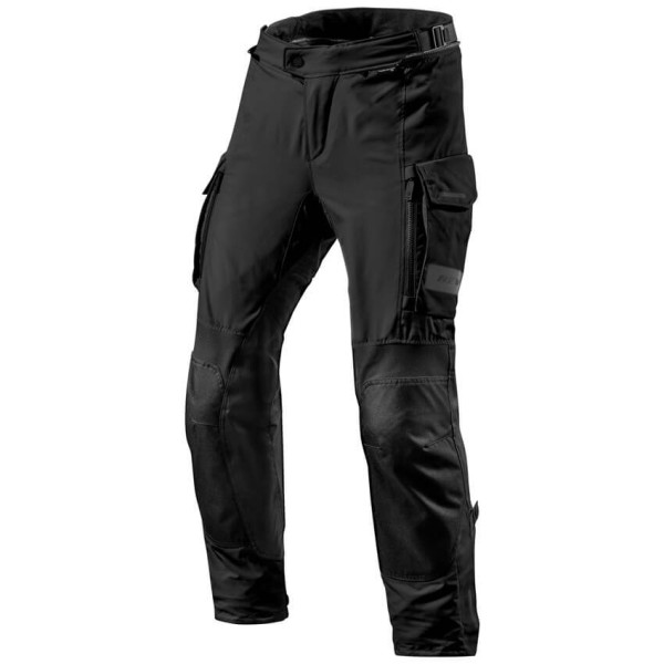 Motorcycle Pants REVIT Offtrack Black ,Motorcycle Trousers