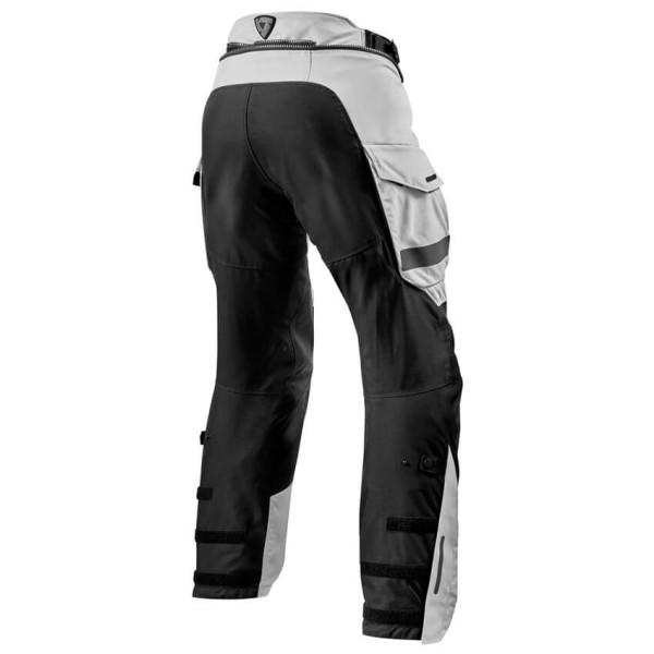 Motorcycle Pants REVIT Offtrack Silver
