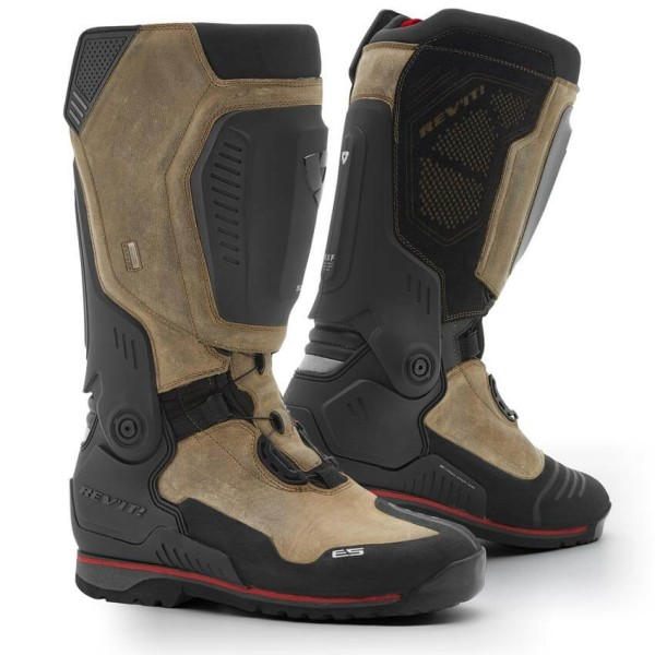 Bottes de Moto REVIT Expedition H2O Marron